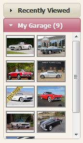 My Garage on ClassicCars.com